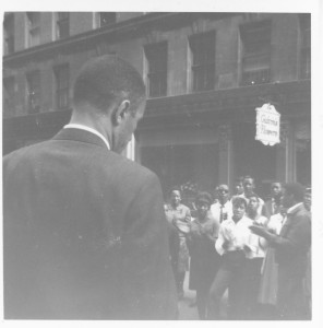 Reverend Gil Caldwell, Service at School Committee Headquarters, Spring 1965